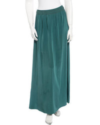 Silk maxi skirt medium 451653
