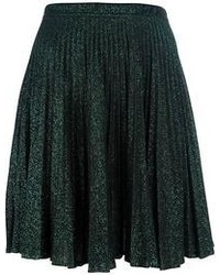 Jean Paul Gaultier Vintage Lurex Pleated Skirt