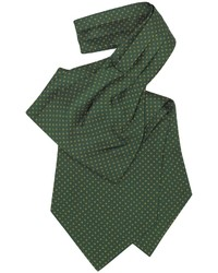 Dark Green Polka Dot Tie