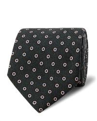 8cm polka dot wool tie medium 815156