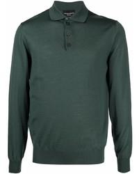 Emporio Armani Knitted Polo Shirt
