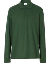 Burberry Long Sleeved Monogram Polo Shirt