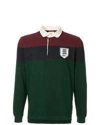 Kent & Curwen Long Sleeved Polo Shirt
