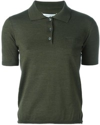 Maison margiela short sleeve polo shirt medium 752561