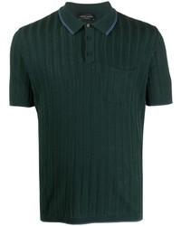 Roberto Collina Striped Pattern Polo Shirt