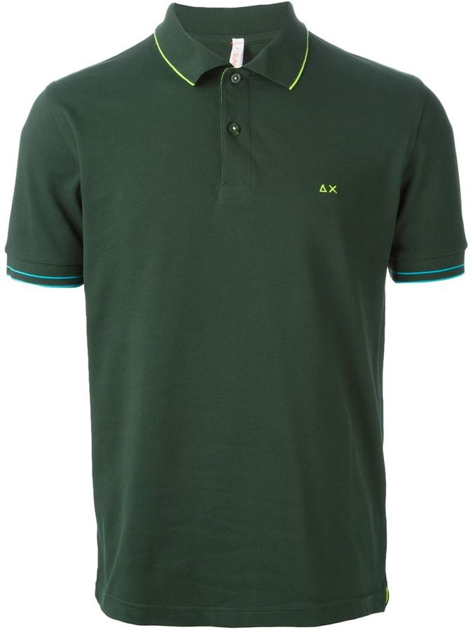 Sun 68 Piped Polo Shirt Where To Buy How To Wear