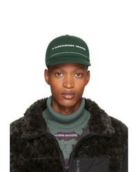 Undercover Green A Orange Print Cap