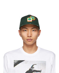 DSQUARED2 Green Logo Patch Cap
