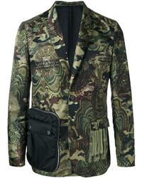 Camouflage print blazer medium 3692815