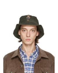 Polo Ralph Lauren Khaki Polo Bear Bucket Hat