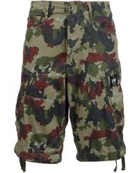 G Star G Star Camouflage Print Cargo Shorts