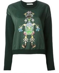 Mary katrantzou tiki man sweater medium 79909