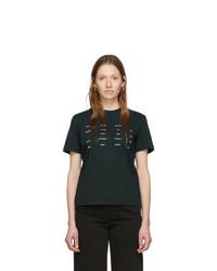 Proenza Schouler Black White Label Address Logo T Shirt