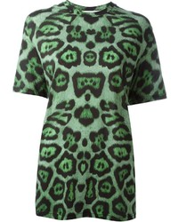 Givenchy Leopard Print T Shirt