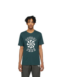 Nike Green Gyakusou Logo Running T Shirt