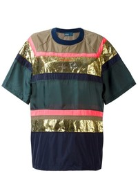 Kolor panelled t shirt medium 731623