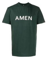 Amen Logo Crew Neck T Shirt