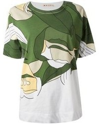 Marni Floral Print T Shirt