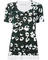 Marni flower print t shirt medium 72803