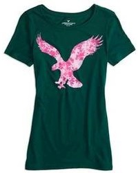 American Eagle O Factory Signature Graphic T Shirt