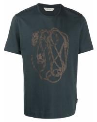 Z Zegna Rope Print T Shirt