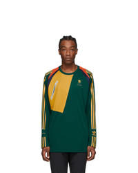 Bed J.W. Ford Green Adidas Originals Edition Game Jersey T Shirt