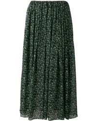 08sircus Floral Print Maxi Skirt