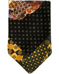 Etro Dog Print Pocket Square