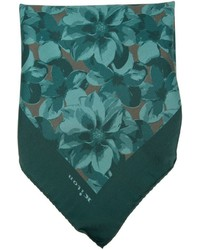 Kiton Floral Print Pocket Square