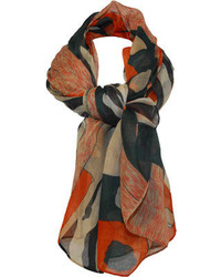 J. Furmani Designer Collection Pashmina Wrapscarf Black Scarves