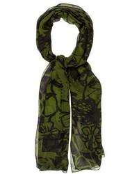 Gucci Printed Silk Scarf