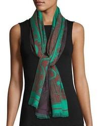 Reversible double print paisley scarf medium 6726667