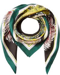 Printed silk scarf medium 725259