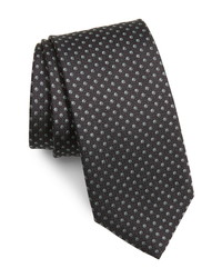 BOSS Dot Print Silk Tie