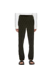 Fendi Green Lounge Pants