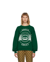 Gucci Green Interlocking G Sweatshirt