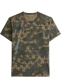 Valentino Printed Cotton T Shirt