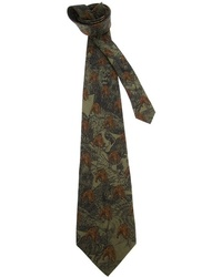 Gianfranco Ferre Vintage Animal Print Tie