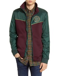 Scotch & Soda Fleece Panel Track Jacket