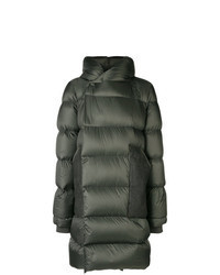 Dark Green Puffer Coat
