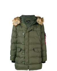 Alpha Industries Hooded Padded Coat