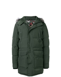 Moose Knuckles Hooded Quilted Coat
