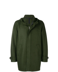 Harris Wharf London Short Hooded Coat