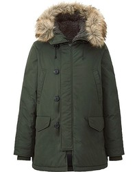 Uniqlo Warm Tech Down Coat