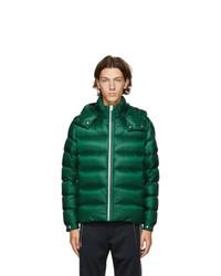 Moncler Green Down Arves Jacket