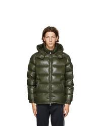 Moncler Green Down Maya Jacket