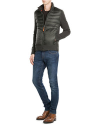 Parajumpers Jacket With Cotton Merino Wool And Down Filling