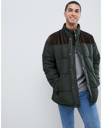 Barbour Spean Large Padded Jacket In Green