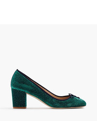 J.Crew Sophia Pumps In Glitter