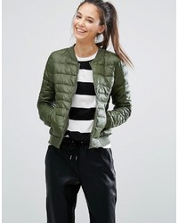 Padded bomber jacket medium 3640623